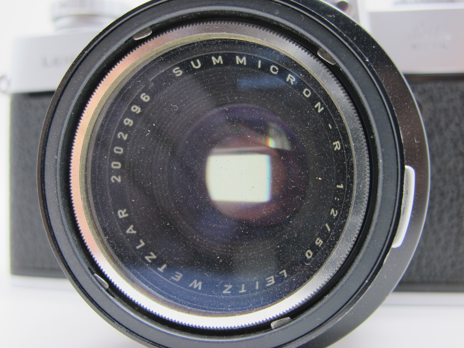 Leicaflex Manual Camera, with Leitz Wetzlar Summicron - R 1:2/50 lens in a black case. - Image 2 of 8