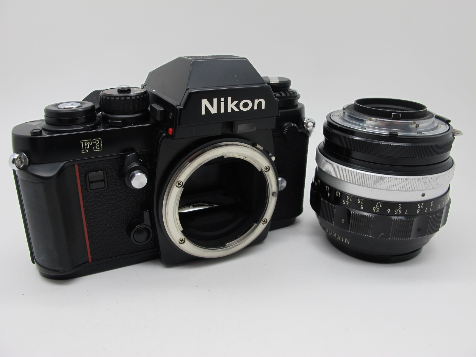 Nikon F3, with Nikkor-H Auto 1-18 f=85mm lens. - Image 9 of 9