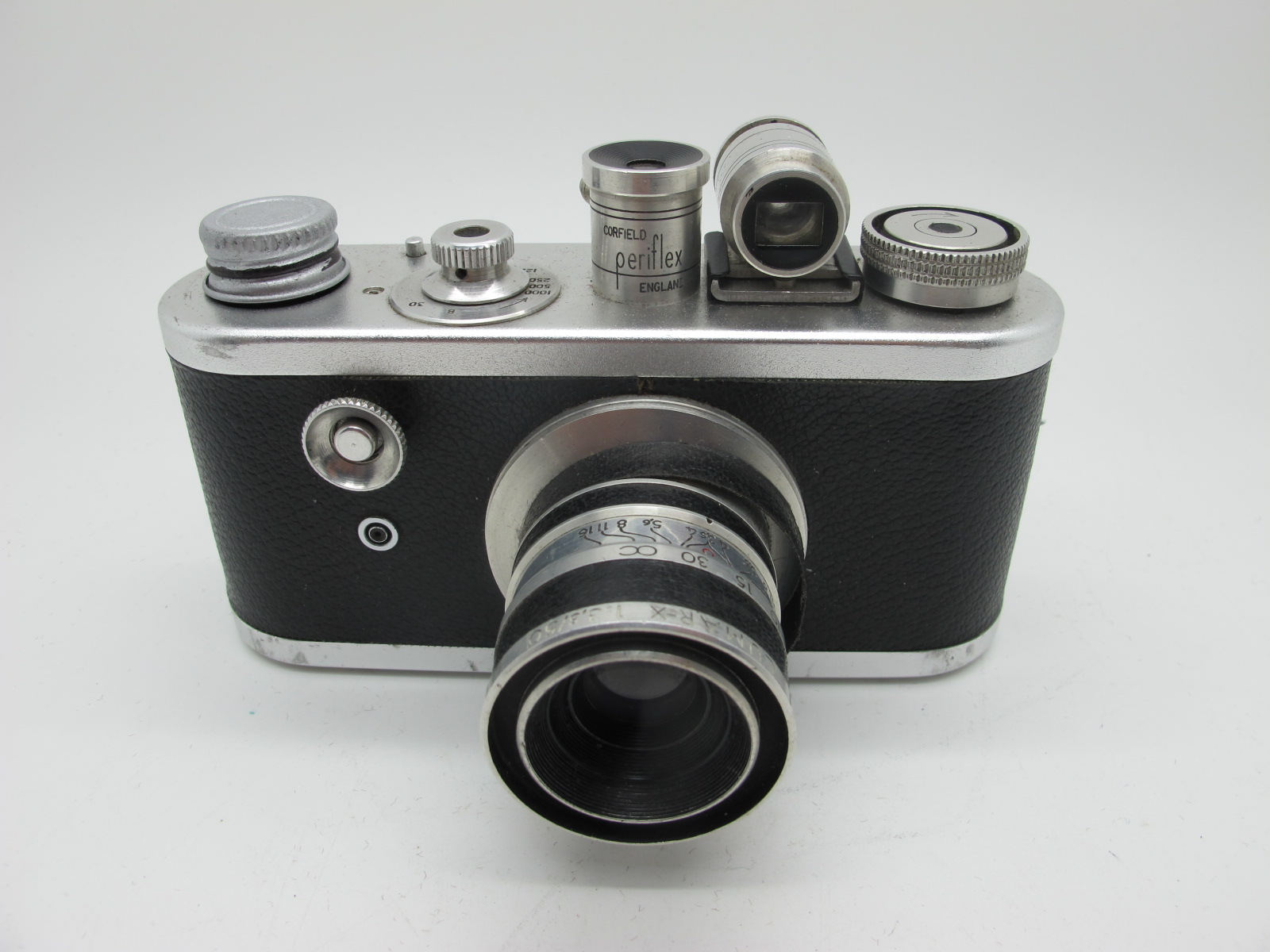 Saraber Goslar Finetta 88, Edika Flex, plus two other camera's in brown leather cases. (4) - Image 2 of 13