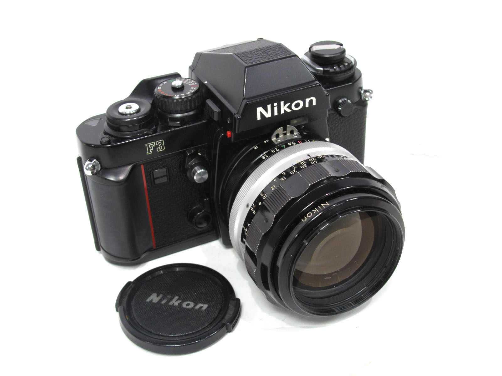 Nikon F3, with Nikkor-H Auto 1-18 f=85mm lens.