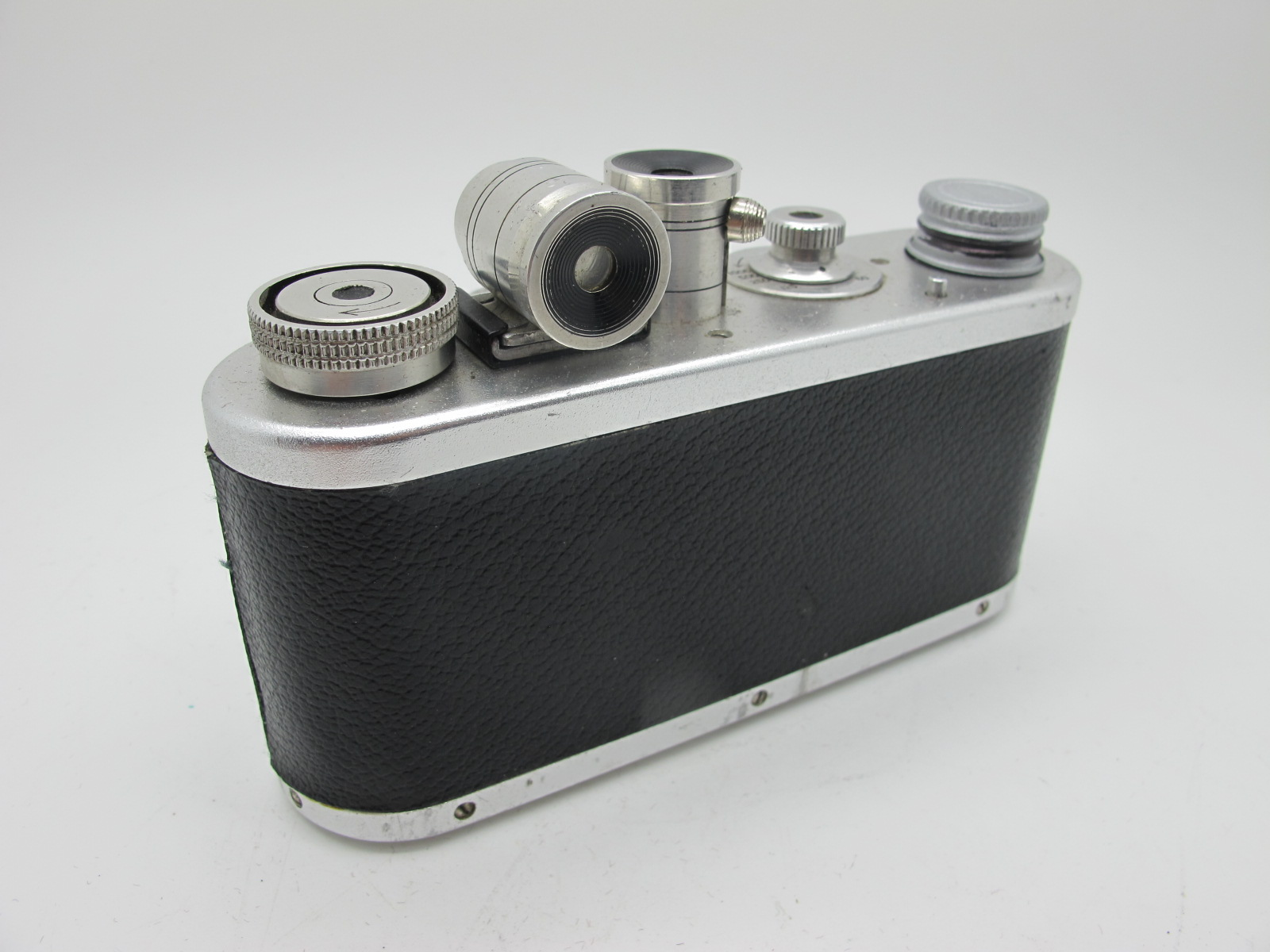 Saraber Goslar Finetta 88, Edika Flex, plus two other camera's in brown leather cases. (4) - Image 3 of 13