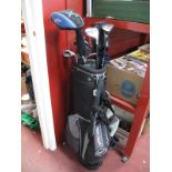 Callaway Big Bertha Golf Clubs, in a Top Flite golf bag.