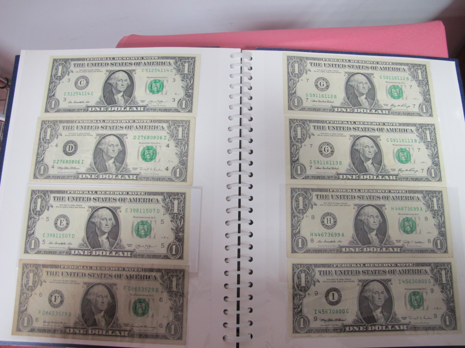 A Collection of mainly U.S.A and German Banknotes, over twenty six US Dollars noted, worthy of - Image 5 of 7