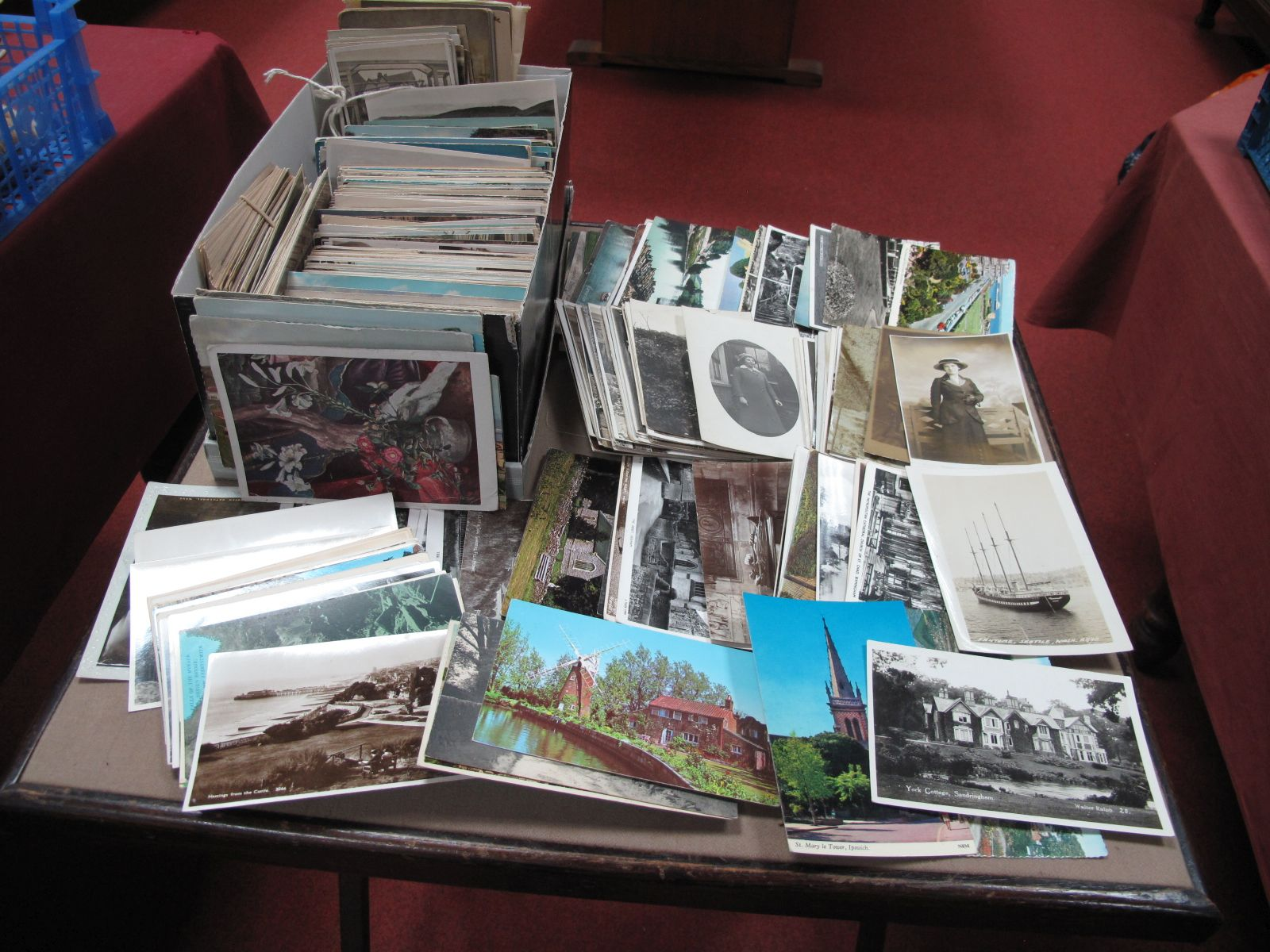 A Box of Mainly Early XX Century and Later Picture Postcards, to include London, Bognor Regis,