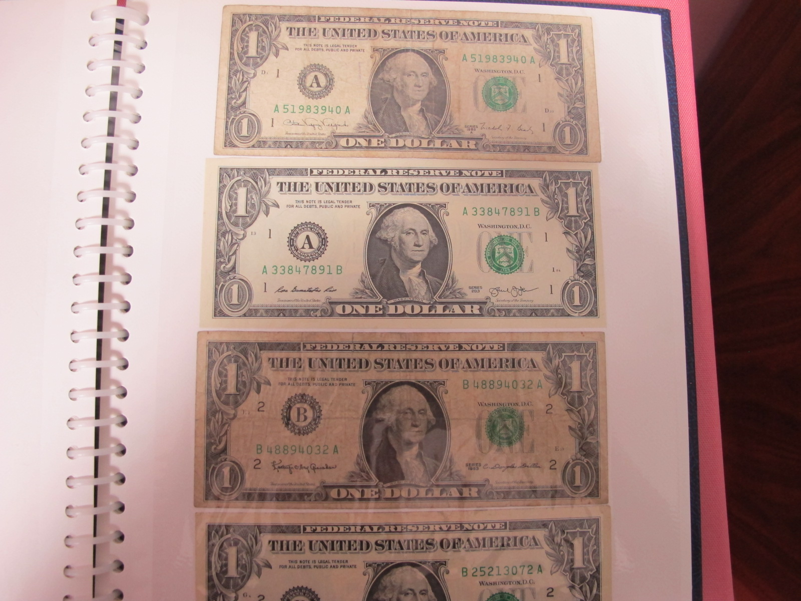 A Collection of mainly U.S.A and German Banknotes, over twenty six US Dollars noted, worthy of - Image 4 of 7
