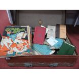 WWII and Later British Military Training Manuals, Scrap Books, Emphemera etc, believed to belong