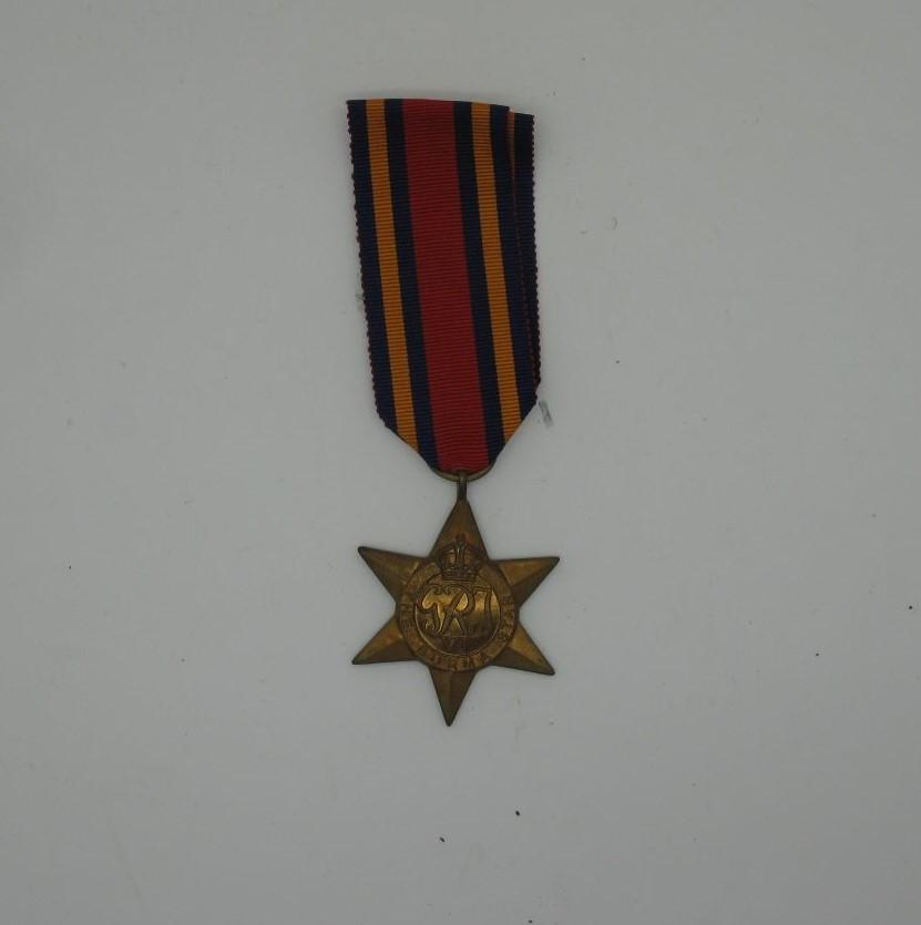 A WWII Burma Star.
