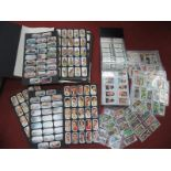 An Album of 'Card Collectors Society' Reproduction Cigarette Cards, to include Horsemanship, Clan