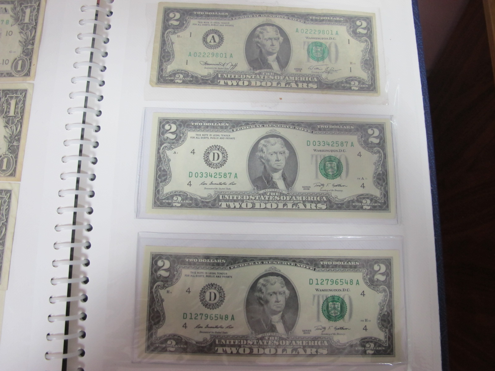 A Collection of mainly U.S.A and German Banknotes, over twenty six US Dollars noted, worthy of - Image 6 of 7