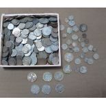 A Large Collection of GB and Foreign Coinage, includes a small amount of pre 1947 Silver Coins,
