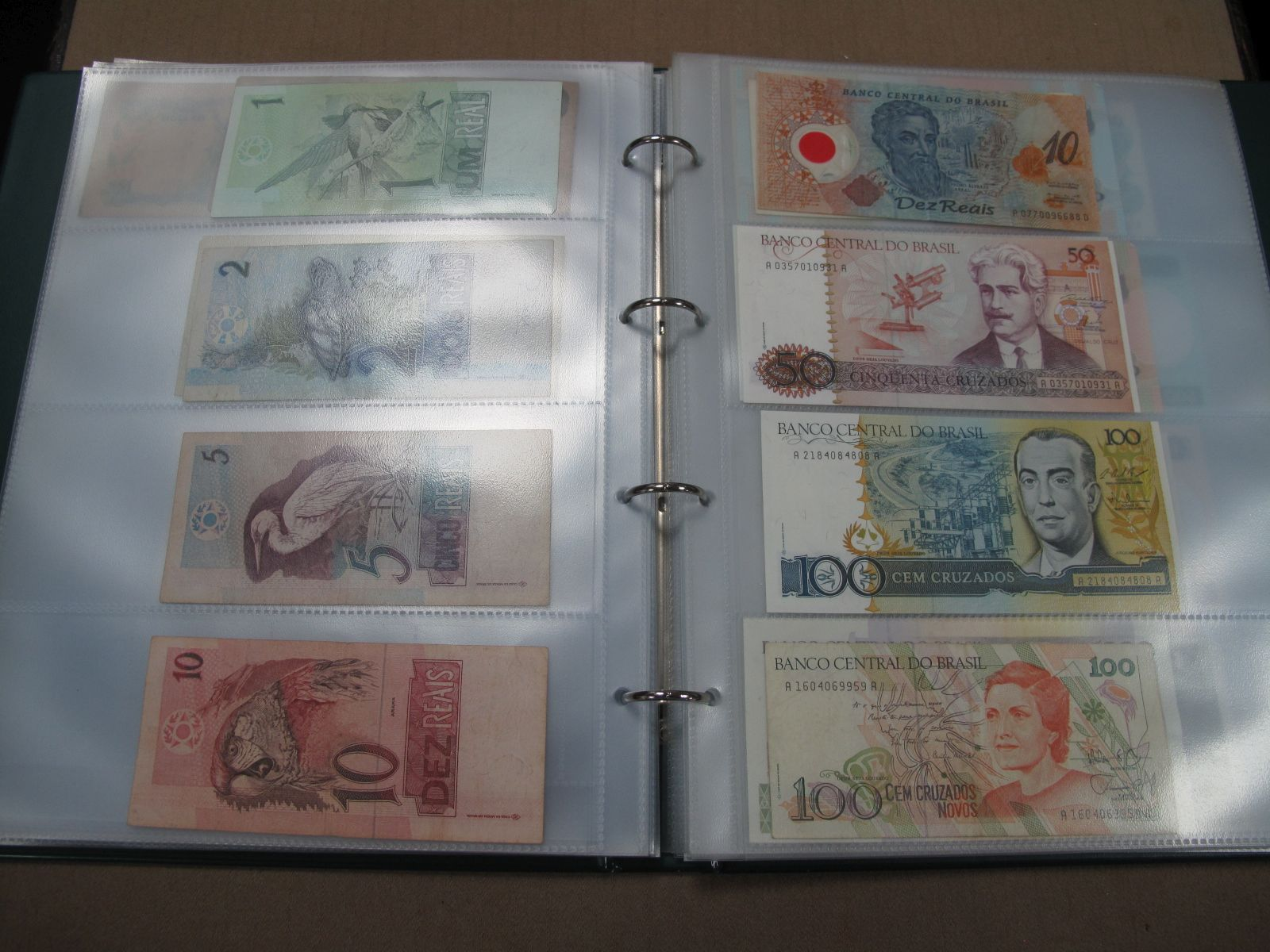 A Large Collection of North and South America Banknotes, also includes Caribbean, Honduras,