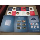 The Koin Club Royal Navy Submarines Assassins of The Deep Commemorative Coins, in card sleeve, a