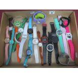 A Selction of Modern Ladies Wristwatches, including Citron, Geneva, Infinite, Jane Shilton etc.