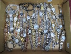 A Selection of Modern Ladies Wristwatches, including Fossil, Sekonda, Lorus, Henley, Next, Rotary