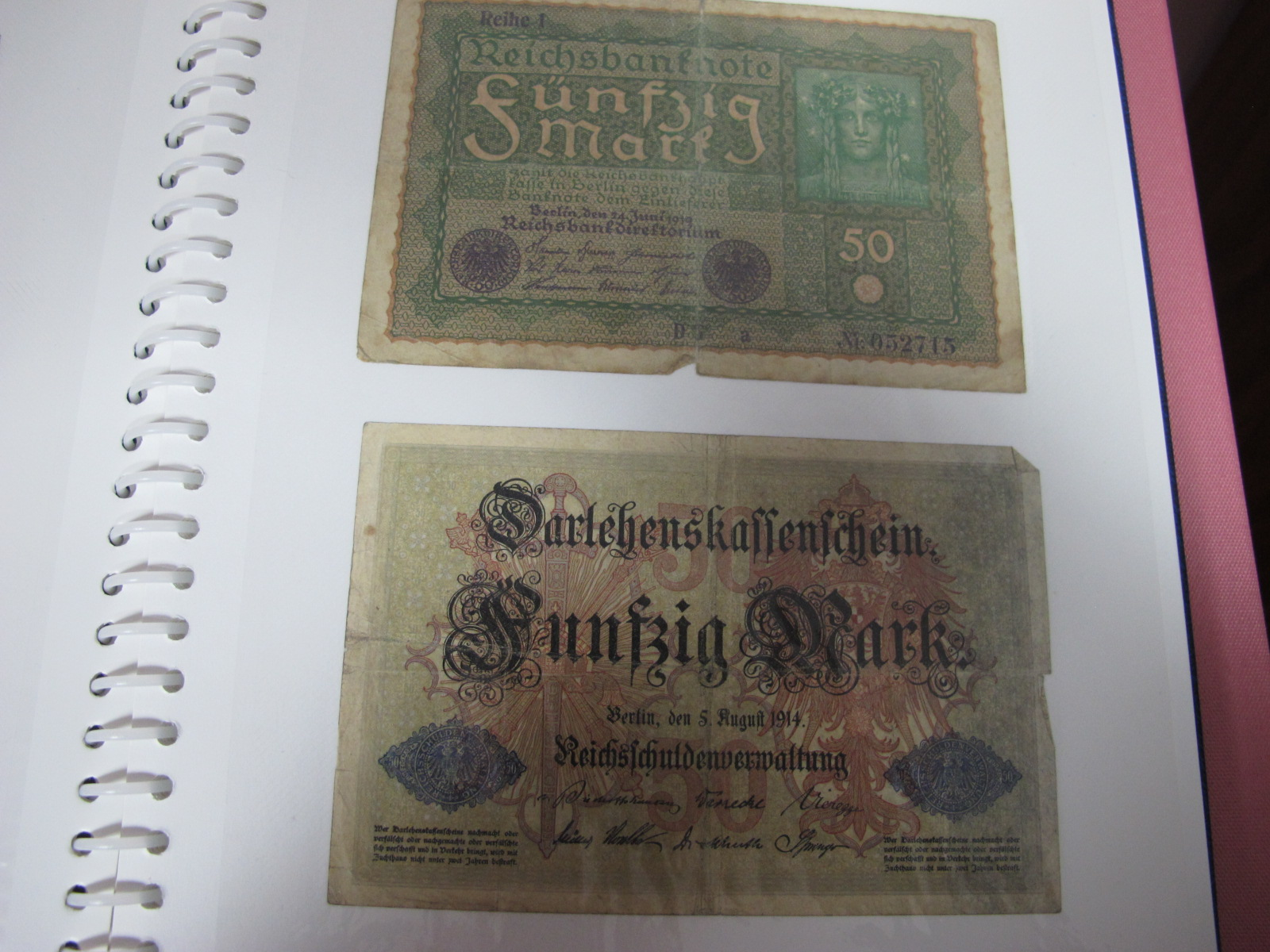 A Collection of mainly U.S.A and German Banknotes, over twenty six US Dollars noted, worthy of - Image 3 of 7