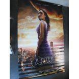 Jupiter Ascending, 2015 Official Cinema Banner, 244cm x 152cm.