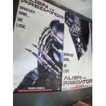 Alien vs Predator, 2004 Official Cinema Banner,
