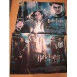 Harry Potter Film Posters - 'Prisoner of Azkaban' and 'Goblet of Fire', 76 x 102cm. (2)