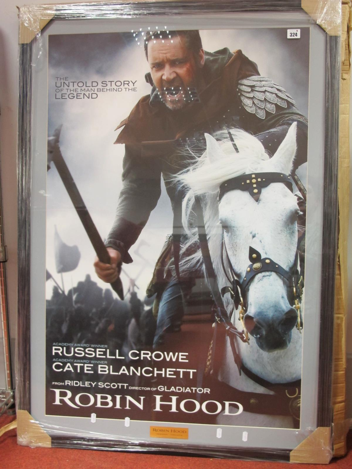 Ridley Scott's Robin Hood promotional Display Limited Edition 120 of 200 (Framed), 117cm x 82cm.