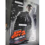 Sin City 2, 2014 Official Cinema Banner, 244cm x 152cm.