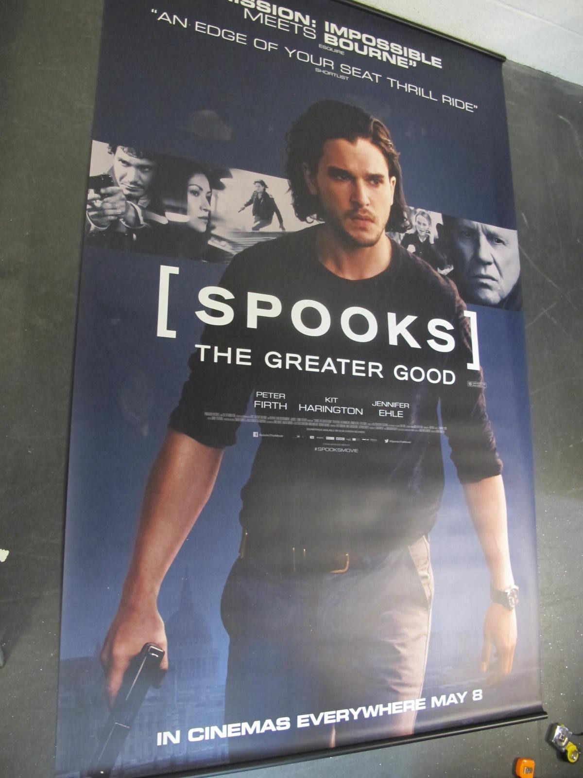 Spooks: the Greater Good, 2015 Official Cinema Banner, 244cm x 152cm.