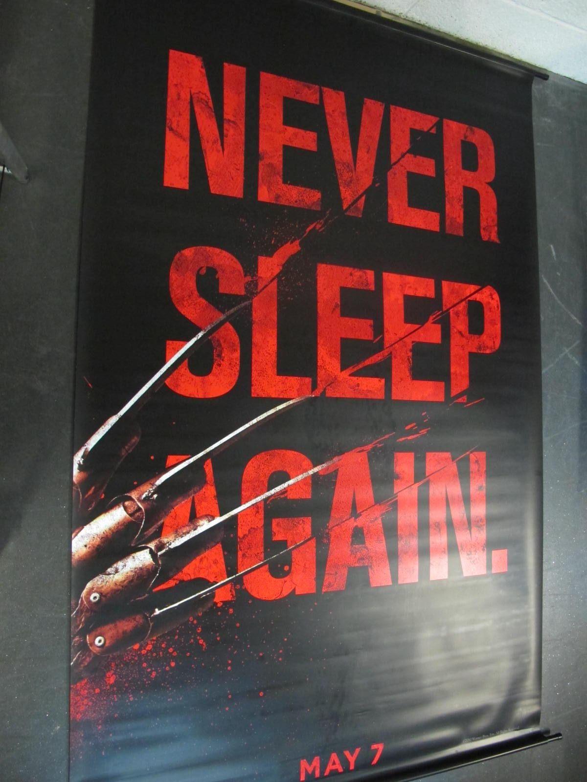 Nightmare on Elm Street, 2010 Official Cinema Banner, 244cm x 152cm.