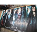Harry Potter HP7 Part 1 Large Lobby Poster, 2010, featuring Hermione Grainger, Harry Potter and