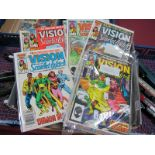 Marvel - The Vision and The Scarlet Witch, Complete Twelve Issue Limited Series of Comics 1 - 12, in