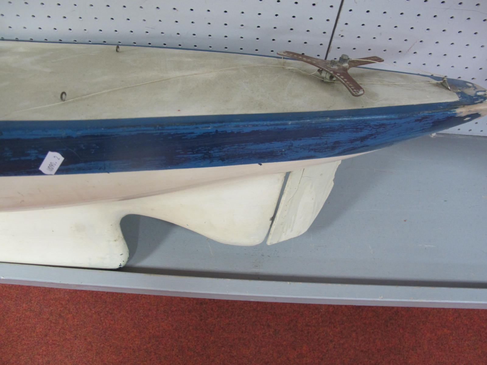 A Scratch Built Radio Control; Pond Yacht/Sail Yacht, no electronics present, will require full - Image 2 of 8