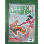 Green Lantern #16/No.16, 12c, with 9d stamp, used well read condition.