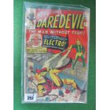 Daredevil #2/No.2, 9d, in used well read condition,