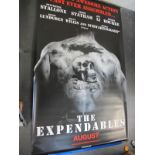 The Expendables, 2010 Official Cinema Banner, 244cm x 152cm.