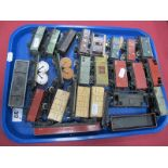 Twenty Four Items of Unboxed 'OO' Gauge/4mm Rolling Stock, by Hornby, Dublo, Wrenn, Trackmaster etc,