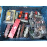 Twenty Four Items of Unboxed Hornby Dublo 'OO' Gauge/4mm Two and Three Rail Rolling Stock, also