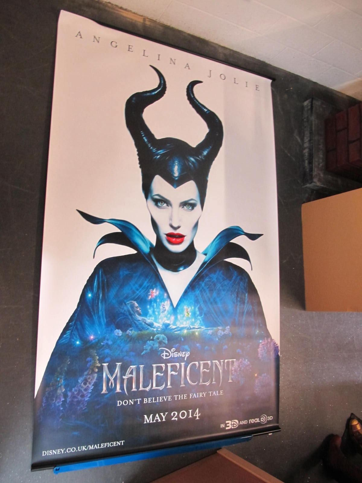 Maleficent, 2014 Official Cinema Banner, 244cm x 152cm.