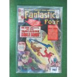 The Fantastic Four #31/No.31 9d, in used well read condition.