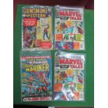 Four Marvel Comics, comprising two King Size Marvel Tales #2, Gunsmoke Western and Prince Namor