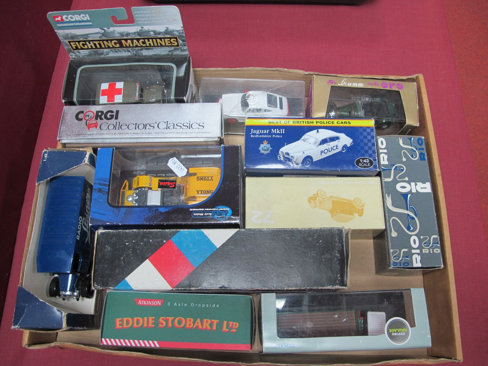 A Quantity of Boxed Limited Edition and Promotional Diecast, to include Corgi fighting machines, 4 x