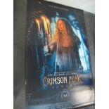 Crimson Peak, 2015 Official Cinema Banner, 244cm x 152cm.