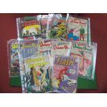 Eleven DC Comics, comprising The Flash #128, Wonder Woman #136, Superman's Pall Jimmy Olsen #68, #