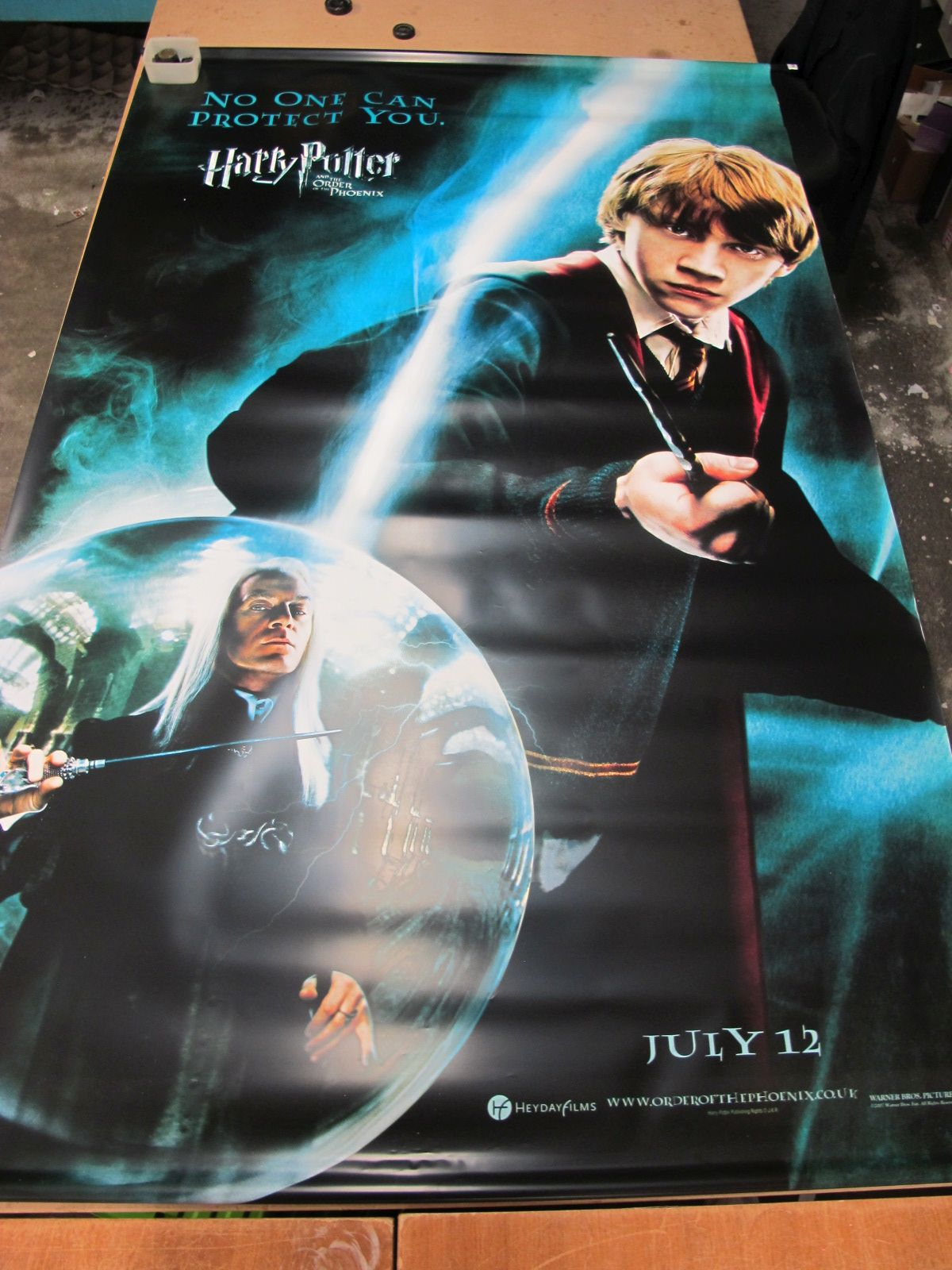 Harry Potter and The Order of The Pheonix Large Lobby Poster, featuring Ron Weasley, approximately