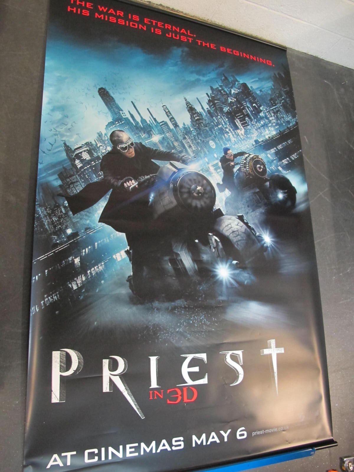Preist in 3D, 2011 Official Cinema Banner, 244cm x 152cm.