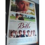 Belle, 2013 Official Cinema Banner, 244cm x 152cm.