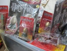 Approximately Twenty Four Issues of Harry Potter Chess Magazines, pieces present in blister packs,
