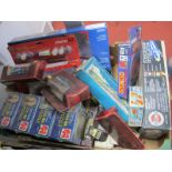 A Box Quantity of Mixed Toy Collector Items, Revell Lancaster Kit, three 350 piece puzzles, etc:-