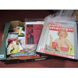 A Quantity of Marilyn Monroe Paper and Printed Epemera to include, Picture post Volume 37, 42, 63'