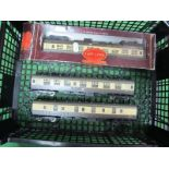Three Hornby 'OO' Gauge/4mm MK1 Western Region Coaches, Buffet, Composite and a Full Brake R/No.