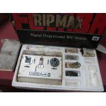An Interesting Vintage Futaba Digimax 4 Radio Control Transmitter, servos and crystals present, in
