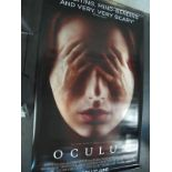 Oculus, 2013 Official Cinema Banner, 244cm x 152cm.