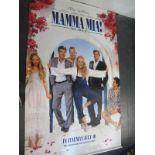 Mamma Mia!, 2008 Official Cinema Banner, 244cm x 152cm.